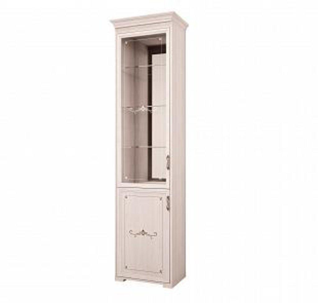 Буфеты и серванты: Шкаф для посуды 16 (без карниза) Афродита левый в Стильная мебель