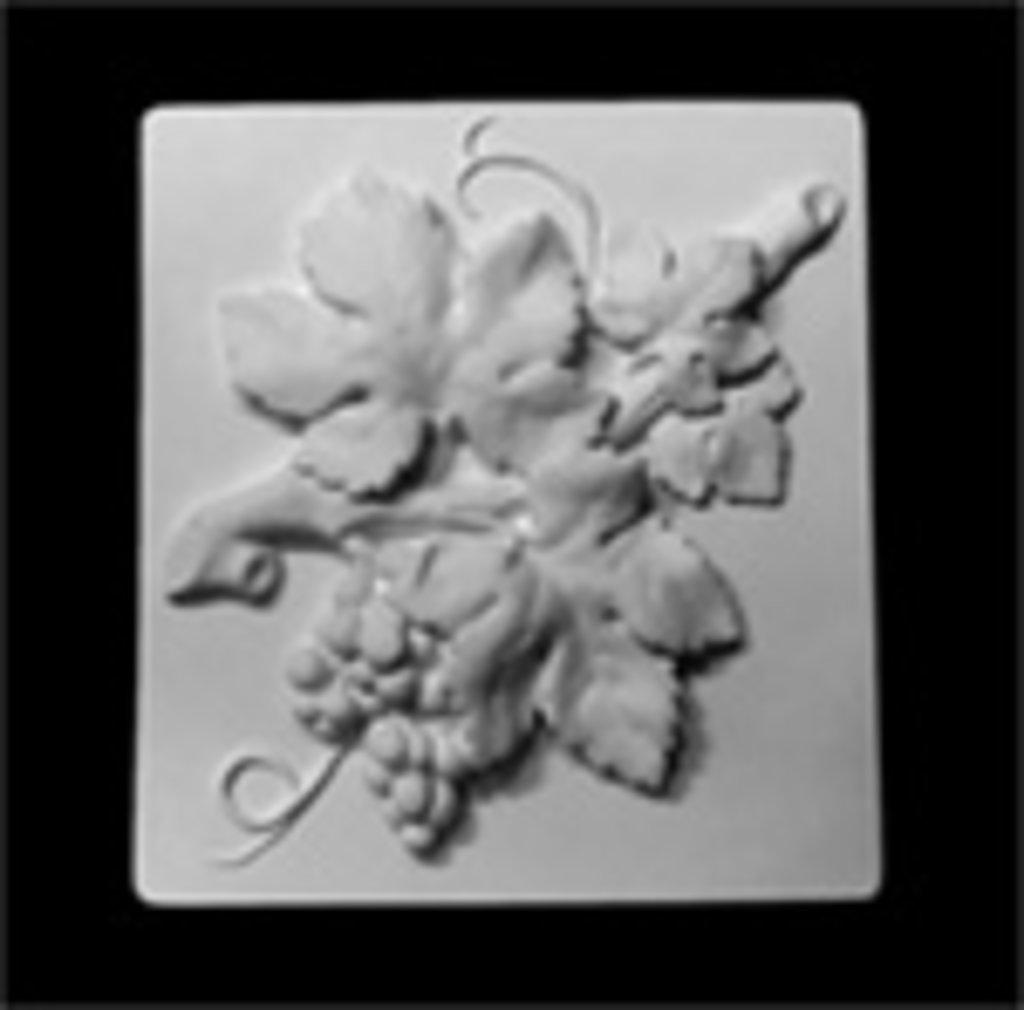 Гипсы: Орнамент, ветка винограда(гроздь), гипс в Шедевр, художественный салон