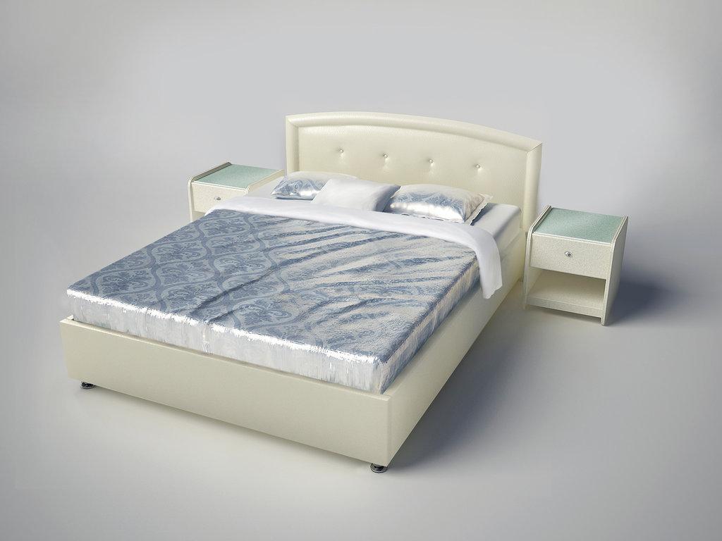 """Кровати: Кровать двуспальная """"Даниела"""" в Амадео"""