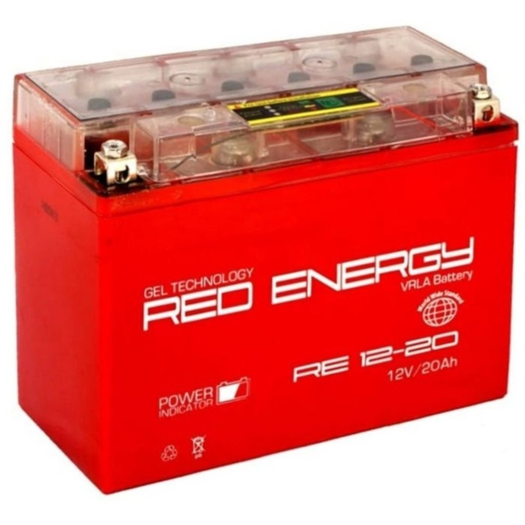 Red Energy: RED ENERGY RE 12-20 20Ah в БазаАКБ