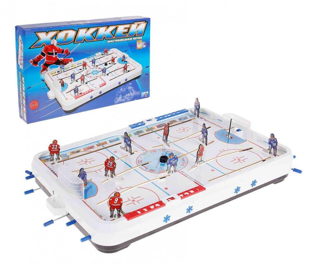Настольные и спортивные игры: Омск Игра Хоккей-2 большой в Игрушки Сити