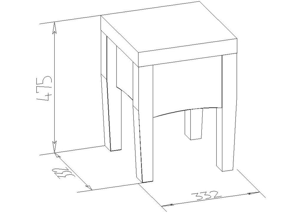 Банкетки и пуфики: Банкетка ADELE 53 в Стильная мебель