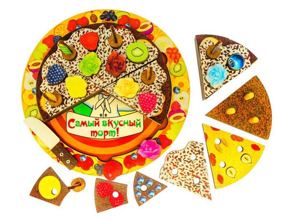 Игрушки для малышей: Нескучные игры 7922 ДНИ Торт 55 дет, 5 слоев в Игрушки Сити