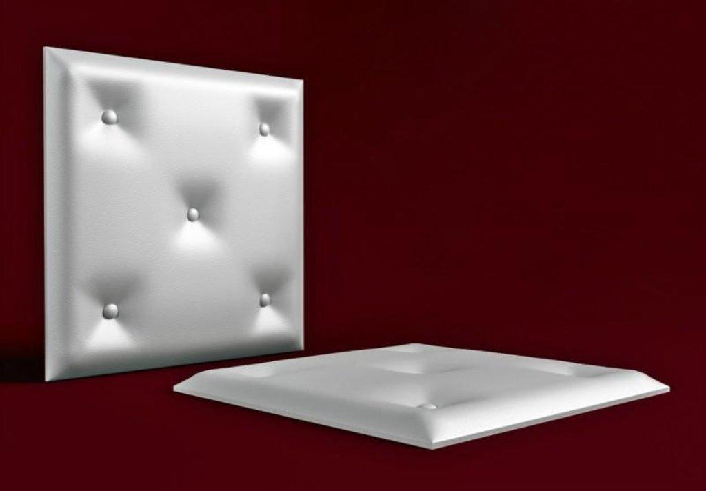 Кожаные стеновые панели: Кожаная 3D панель Grains в Мир Потолков