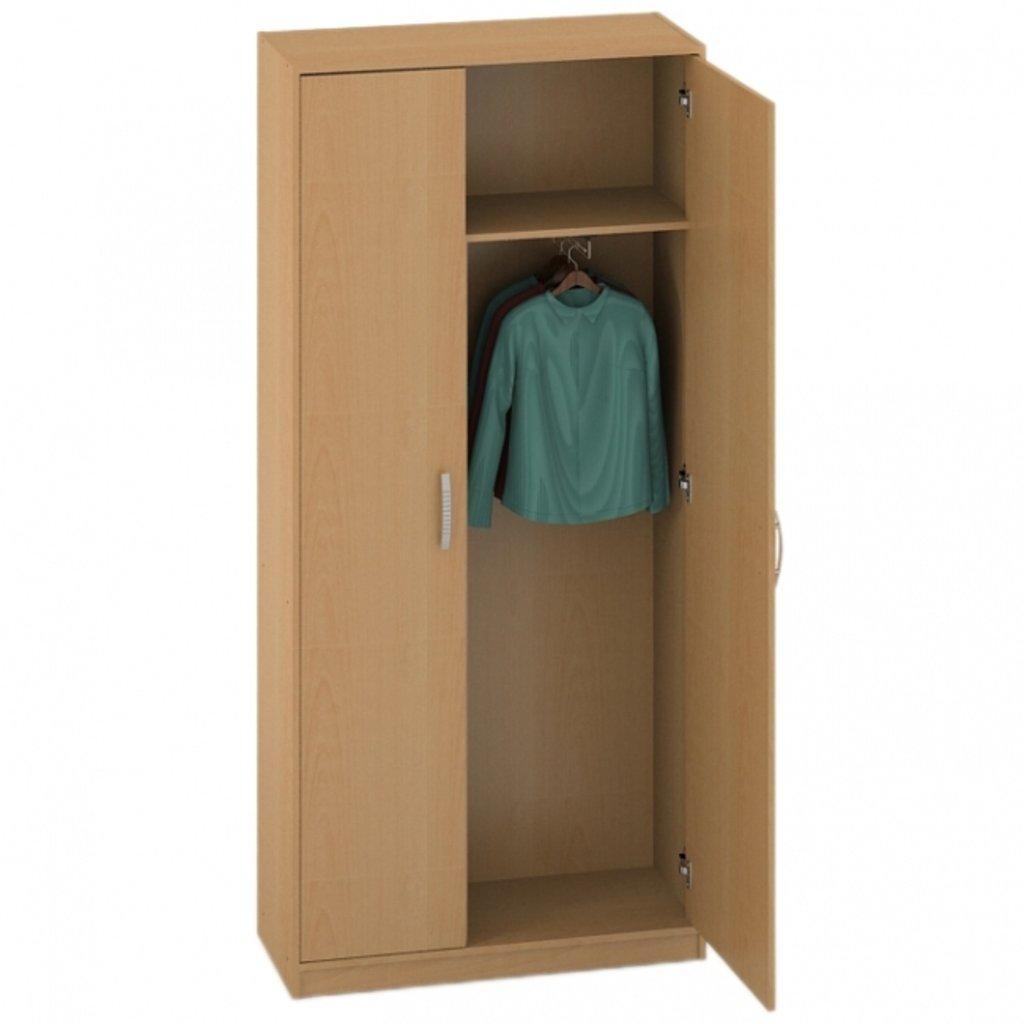 Офисная мебель пеналы, шкафы Р-16: Шкаф для одежды (16) 1840*720*600 в АРТ-МЕБЕЛЬ НН