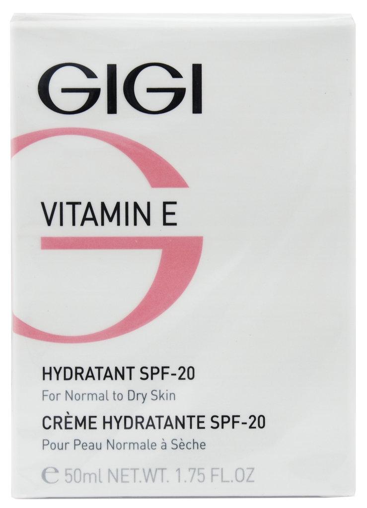 Крема: Увлажняющий крем для нормальной и сухой кожи SPF 20 / Hydratent SPF 20, Vitamin E, GiGi в Косметичка, интернет-магазин профессиональной косметики