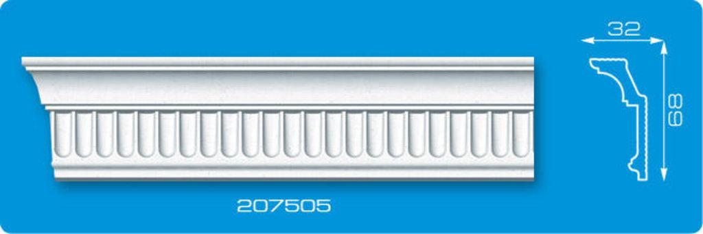 Плинтуса потолочные: Плинтус потолочный ФОРМАТ 207505 инжекционный длина 2м в Мир Потолков