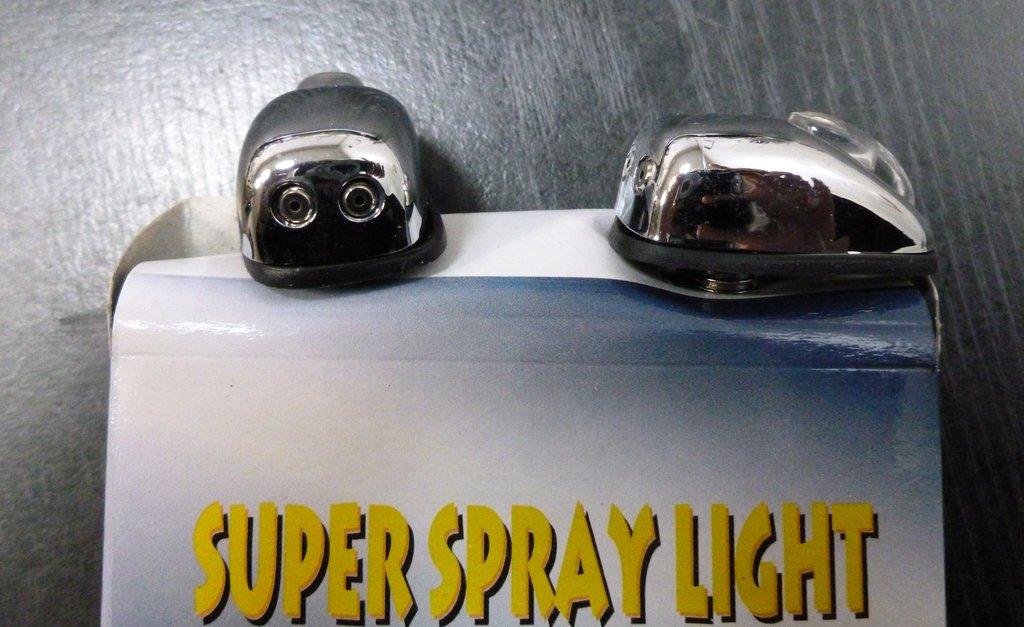 Аксессуары для кузова автомобиля, общее: форсунки омывателя хромированные с подсветкой ( к-т ) в Автоцентр