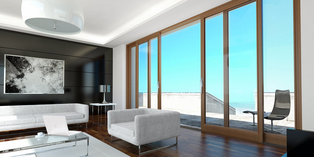 Панорамные окна в Галерея, ООО