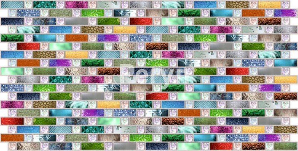 Панели ПВХ: Мозаика Радуга в Мир Потолков