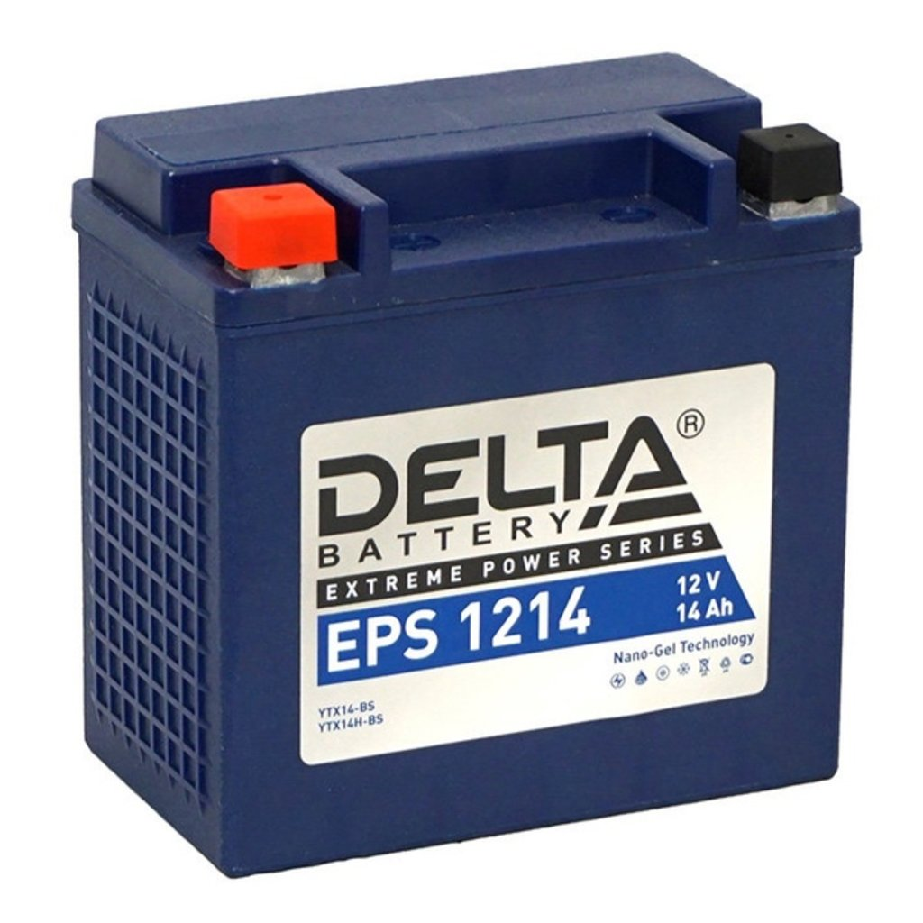 Delta: DELTA 1214 EPS в БазаАКБ