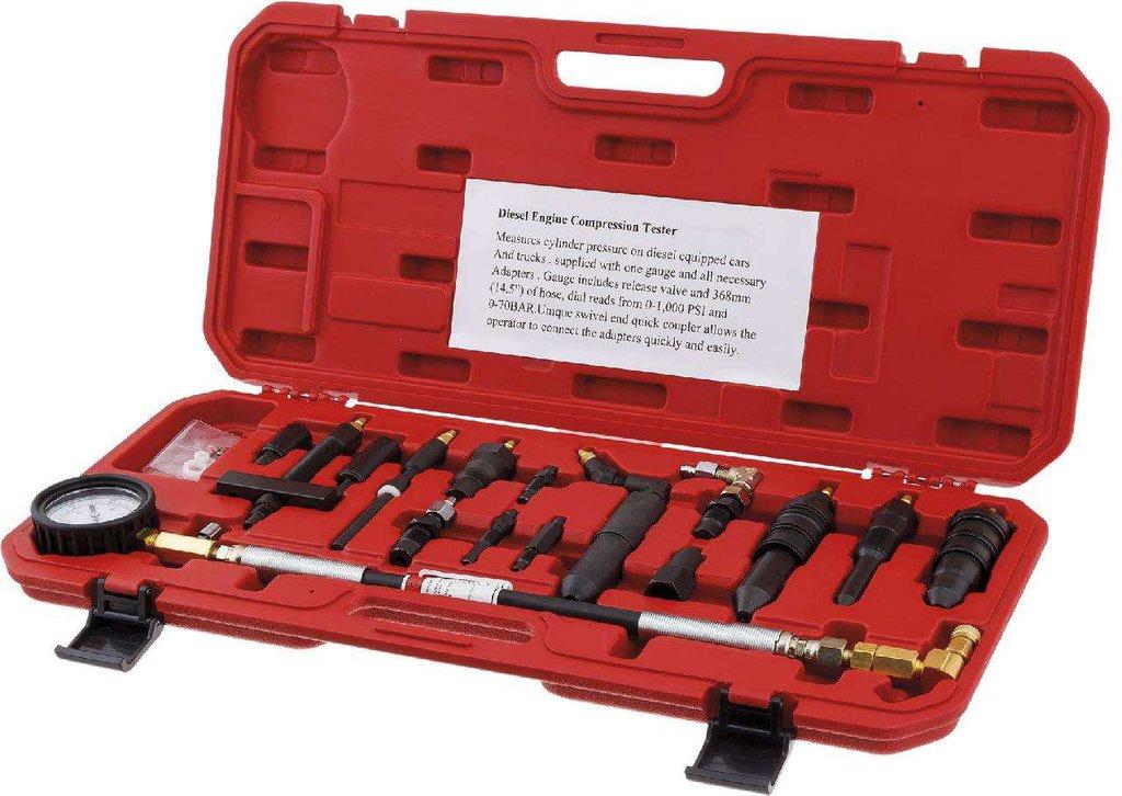 Инструмент для ремонта и диагностики двигателя: KA-7191 Компрессометр дизельный для легковых и грузовых автомобилей в Арсенал, магазин, ИП Соколов В.Л.