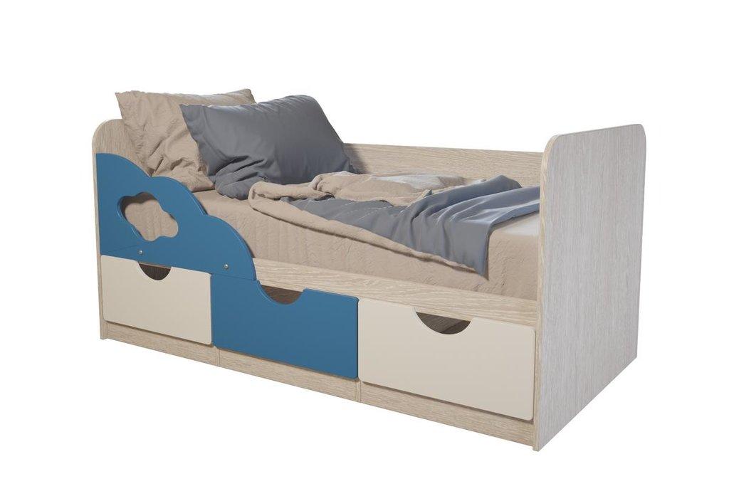 Детские: Кровать детская Минима (Скай) в Vesa