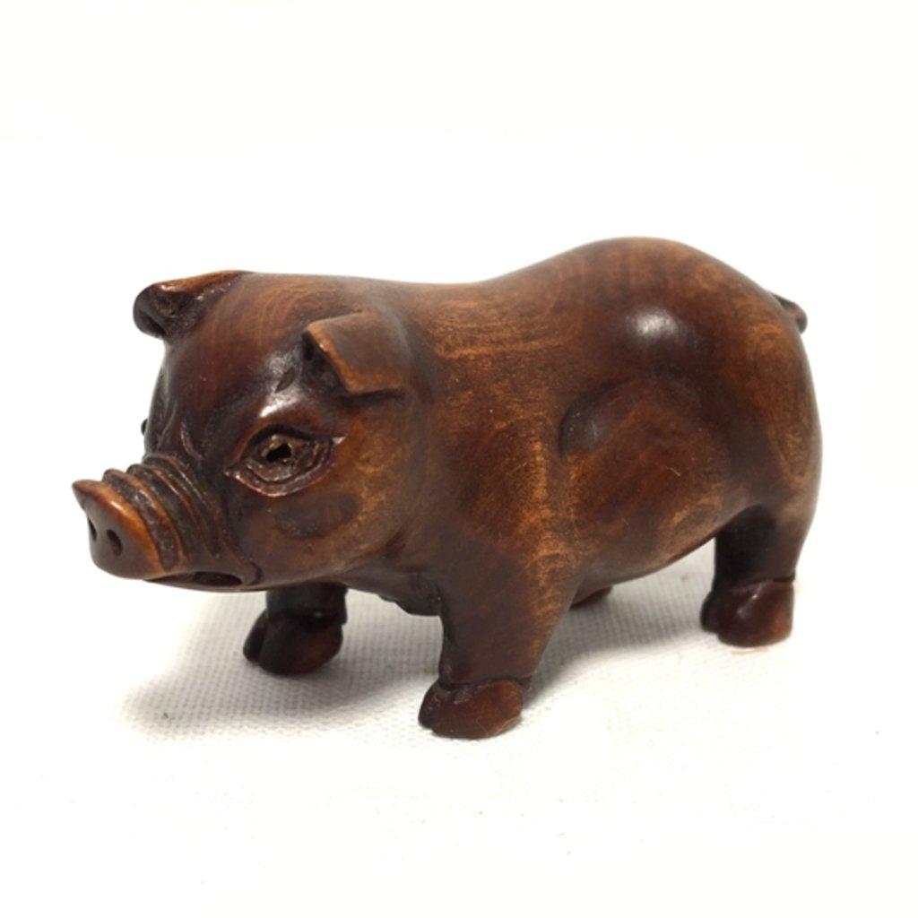 Статуэтки: Свинья в Шамбала, индийская лавка
