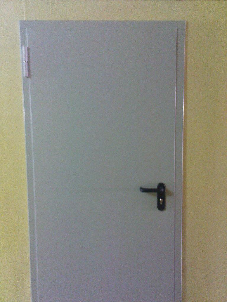 Противопожарные двери: Противопожарная однопольная дверь ДПМ1 EI 60 (900) в Автоворота71