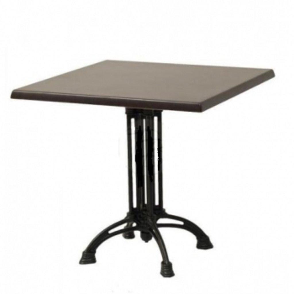 Столы для ресторана, бара, кафе, столовых.: Стол квадрат 800х800, подстолья 1236 ЕМ чугун в АРТ-МЕБЕЛЬ НН