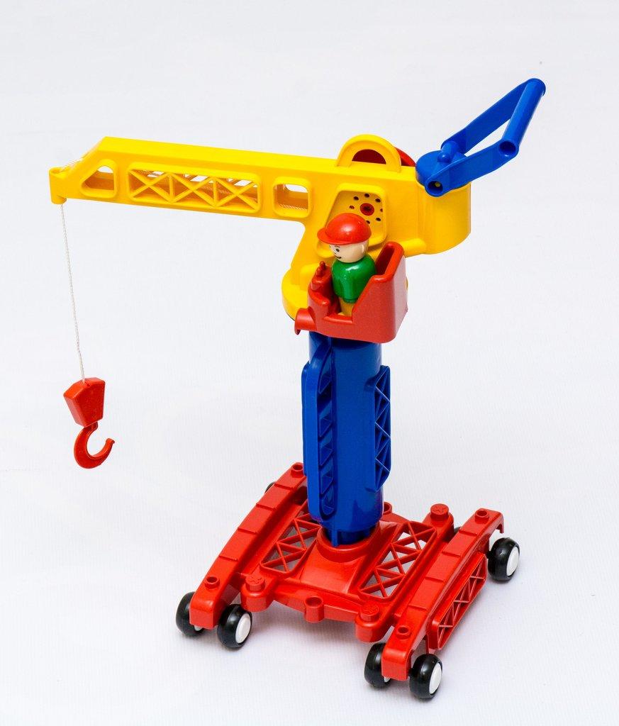 """Игрушки для мальчиков: Кран башенный """"Детский сад"""" /ПК """"Форма""""/ в Игрушки Сити"""
