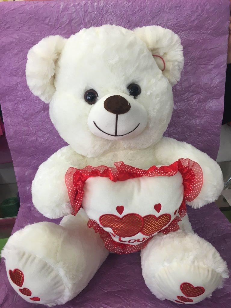 Сувениры, подарки: Медведь с сердцем в Николь, магазины цветов