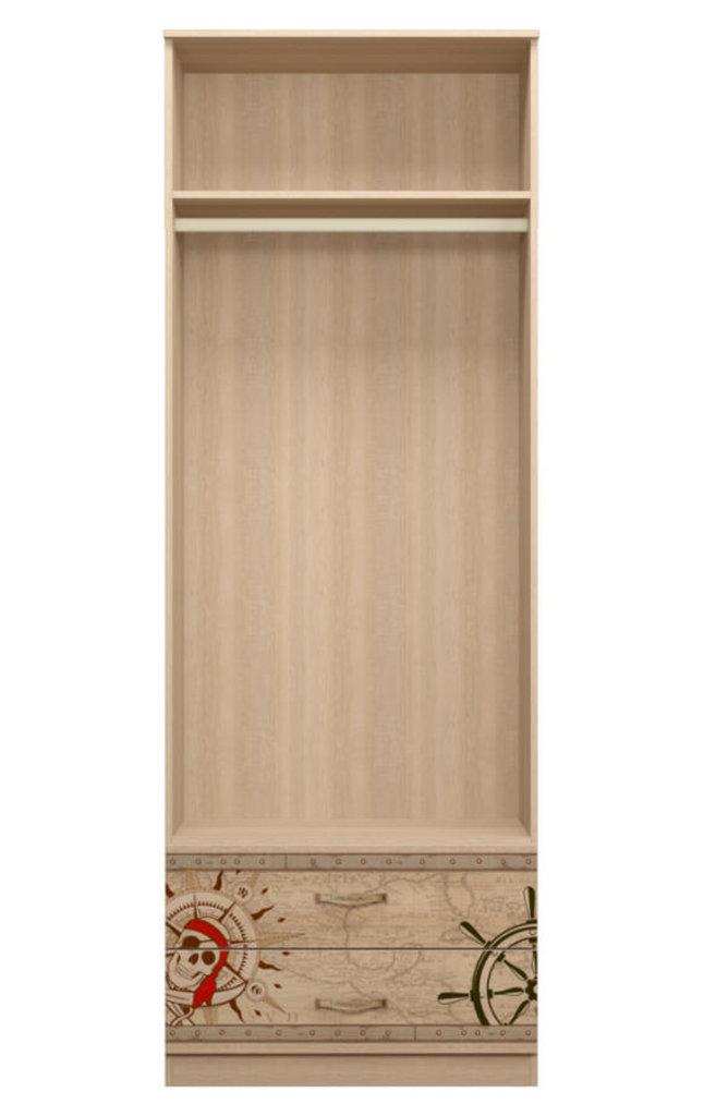 Детские шкафы и стеллажи: Шкаф для одежды с ящиками 20 Квест в Стильная мебель