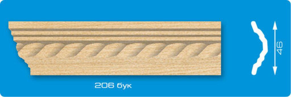 Плинтуса потолочные: Плинтус потолочный ЛАГОМ Ламинированный 206 бук экструзионный длина 2м в Мир Потолков