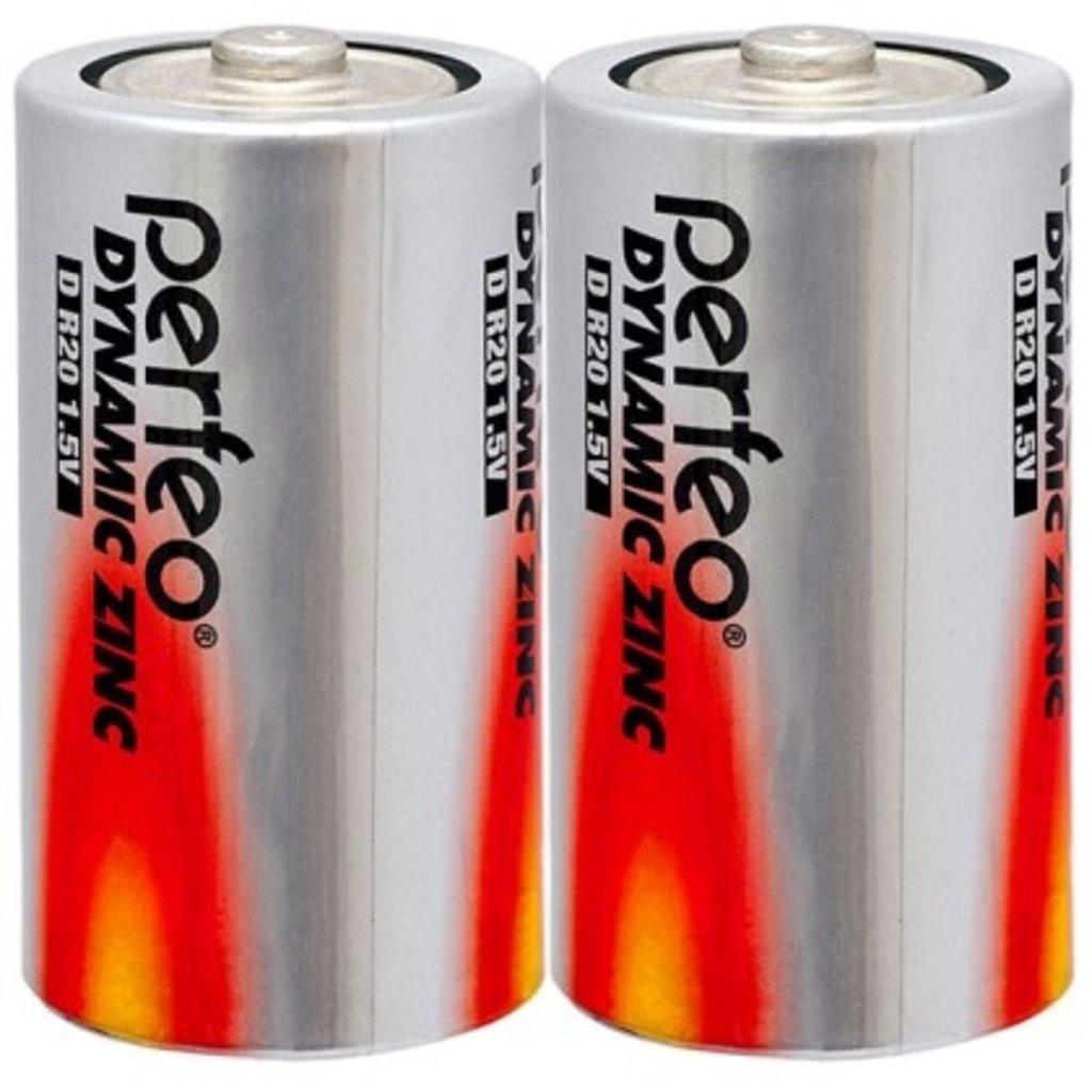 Батарейки.: Батарея R20, D  Perfeo (2SH) в A-Центр Пульты ДУ