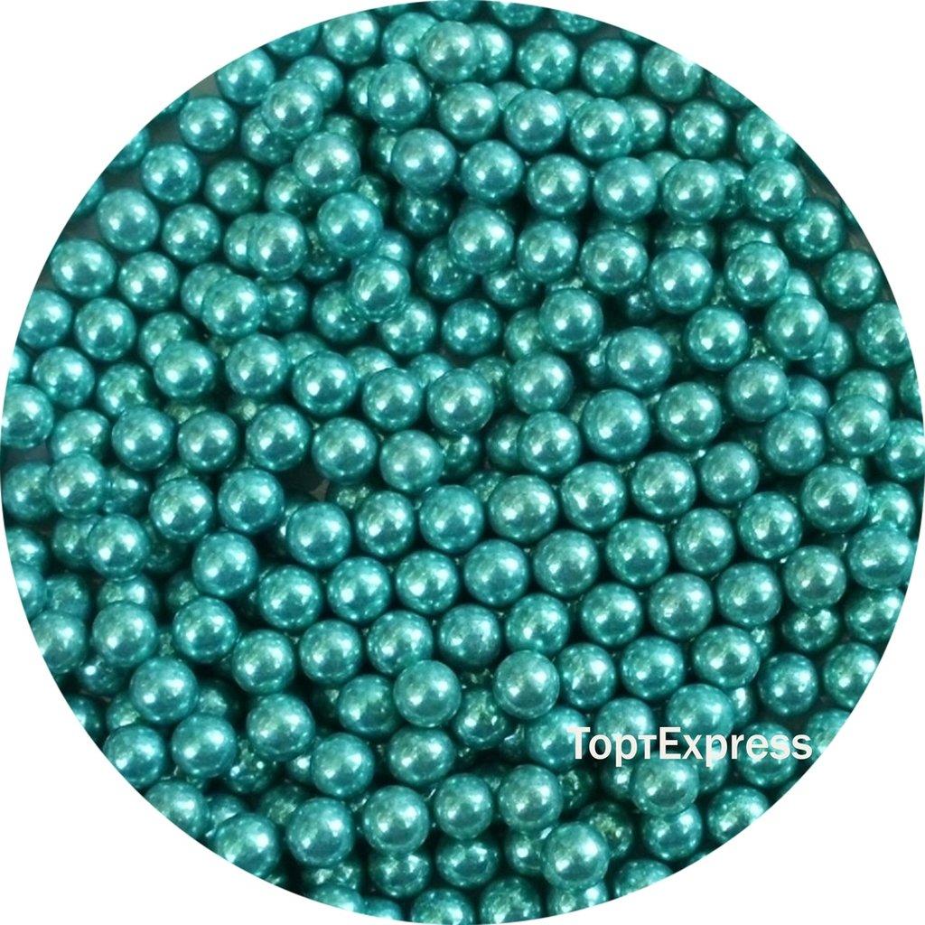 Посыпки декоративные: Шарики голубые перламутровые 5мм в ТортExpress