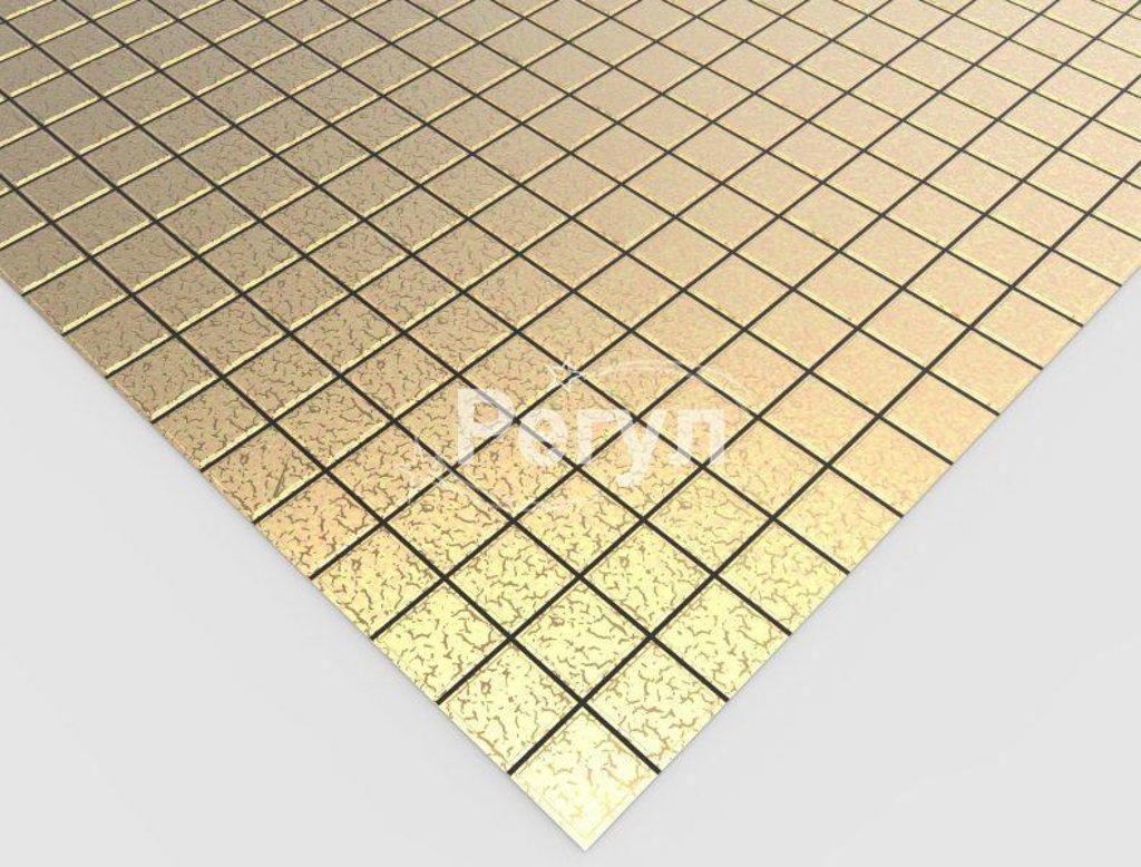 Панели ПВХ: Мозаика Золотая клетка в Мир Потолков