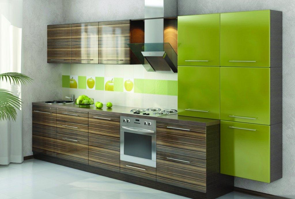 Кухня на заказ: Кухня на заказ Грин в Студия Мебели