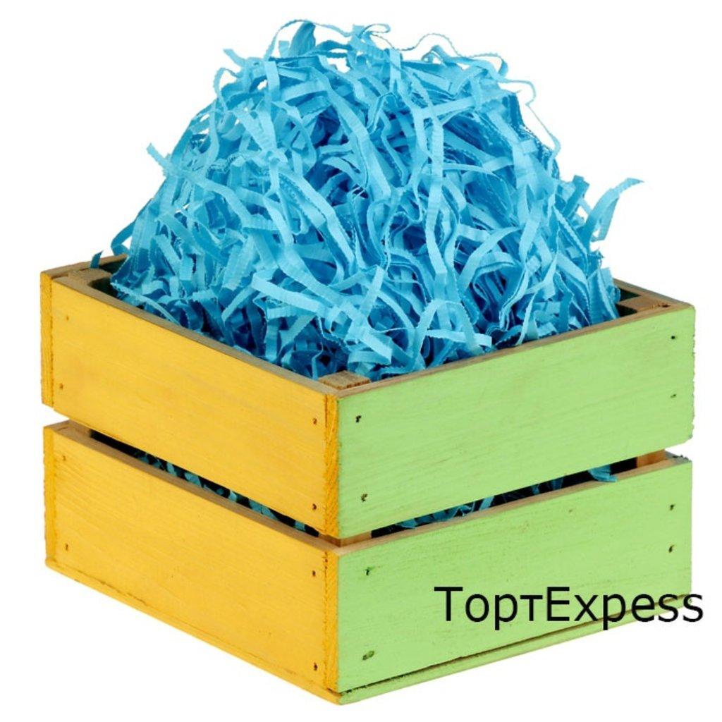 Наполнитель бумажный: Наполнитель бумажный Голубой 100гр в ТортExpress