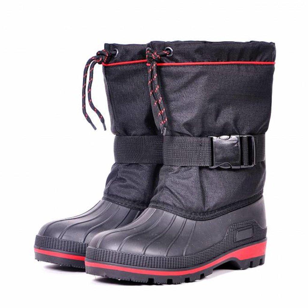 Экипировка и аксессуары: Сапоги зимние Nordman New Red укороченные ткань Rip Stop черные в Базис72