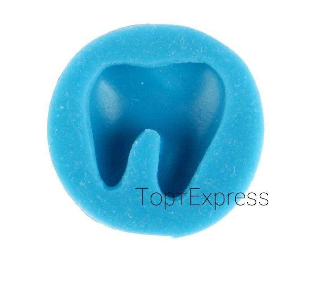 Молды: Молд силиконовый «Зуб». Диаметр 2,4см. в ТортExpress