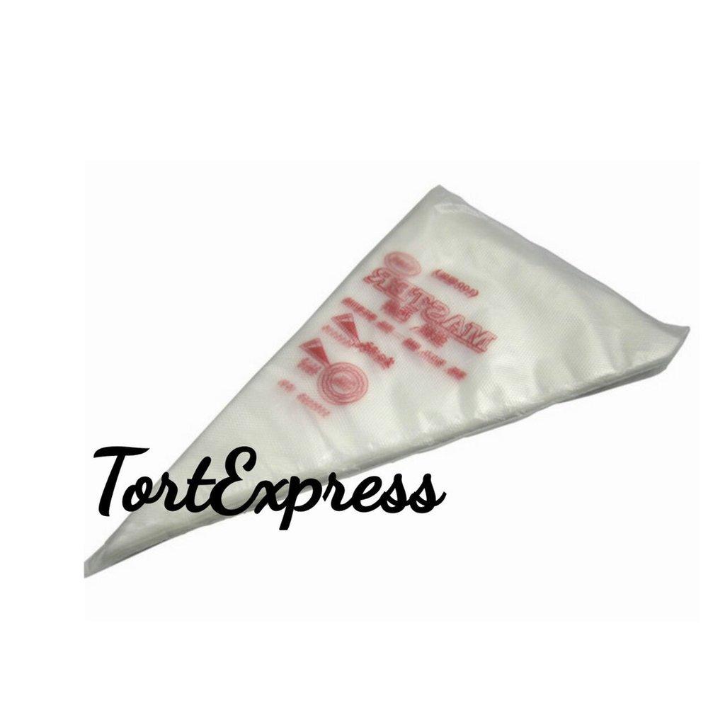 Кондитерский инвентарь: Мешок кондитерский одноразовый 17х26см в ТортExpress
