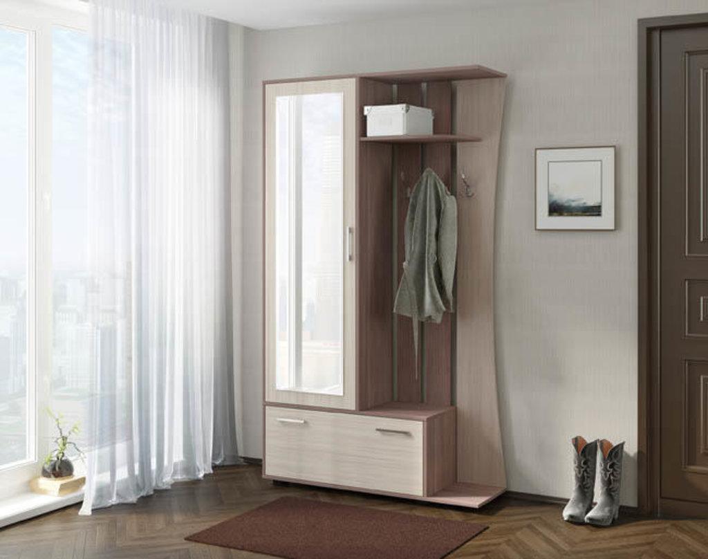 Фабрика мебели Линаура: Прихожая Катрин (Ясень Шимо) в Стильная мебель