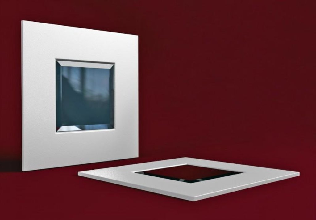 Кожаные стеновые панели: Кожаная 3D панель Mirror в Мир Потолков