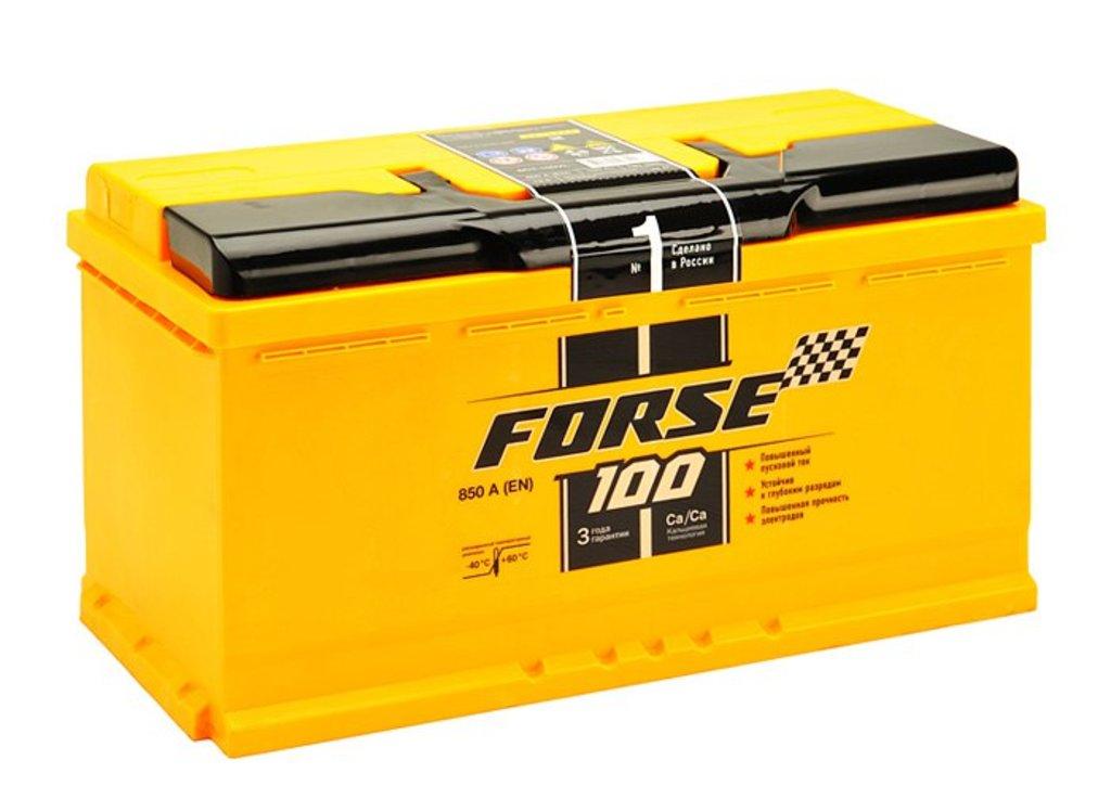 Forse: Аккумулятор Forse 100 А/ч в БазаАКБ