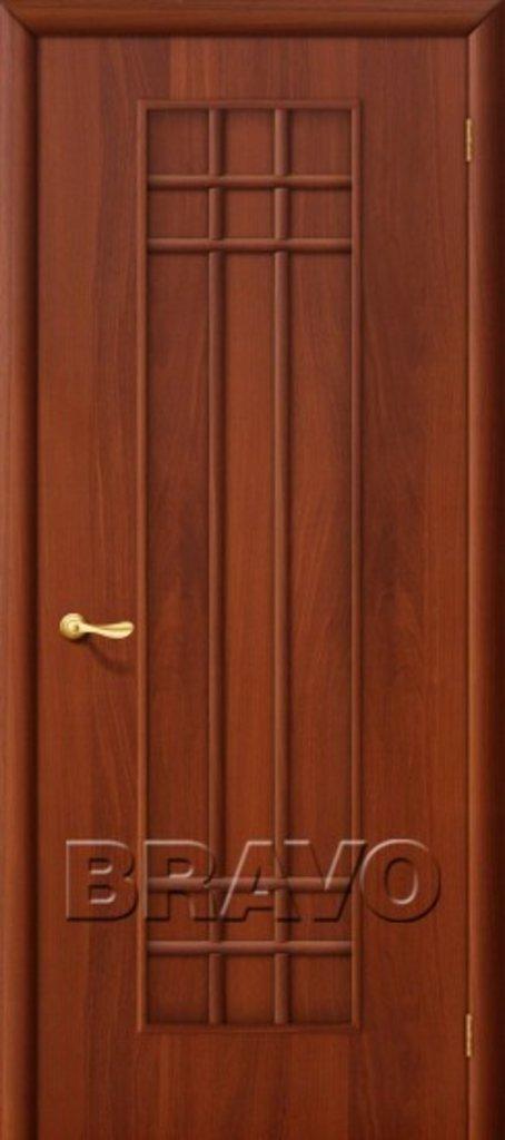 Двери ламинированные BRAVO: 16Г Л-11 (ИталОрех) в STEKLOMASTER