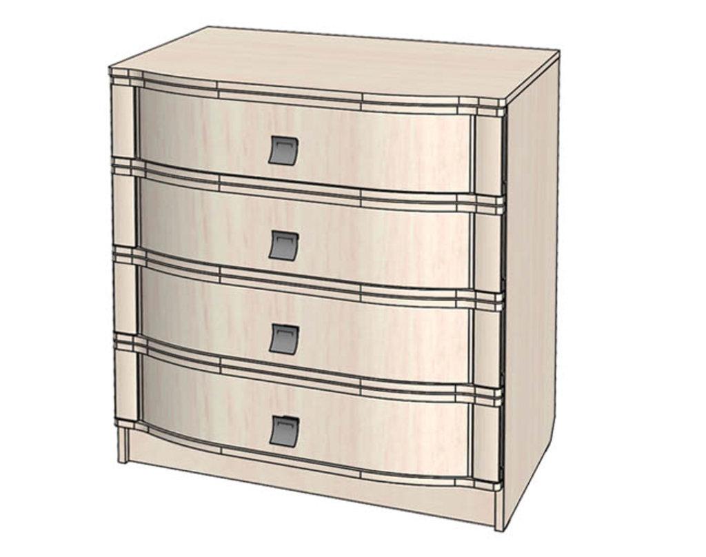Комоды для дома: Комод серия Соната в Стильная мебель