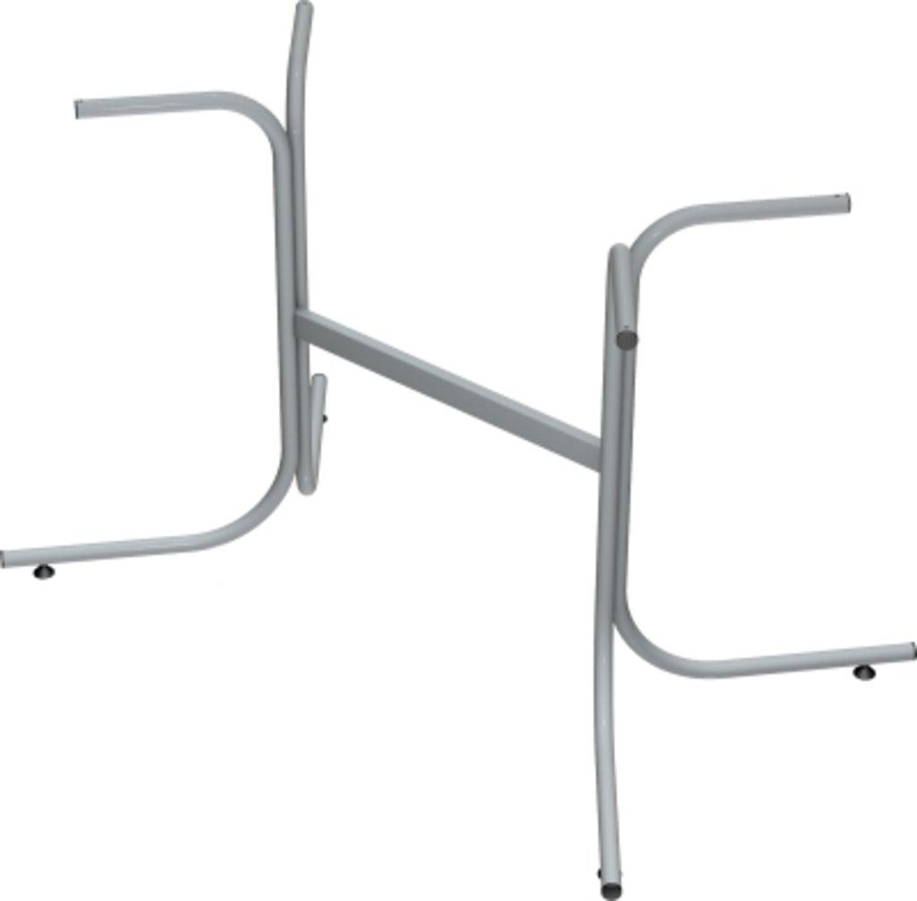 Столы для ресторана, бара, кафе, столовых.: Стол прямоугольник 110х70, подстолья телескоп серая в АРТ-МЕБЕЛЬ НН