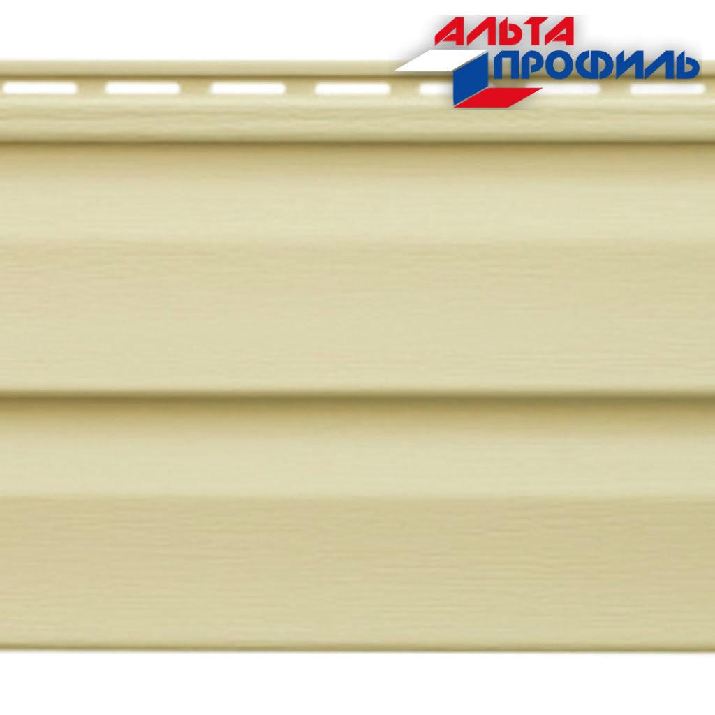 Виниловый Сайдинг: Панель виниловая Аляска Классик ИВОРИ - 3,00 х 0,205 м. в АНЧАР,  строительные материалы