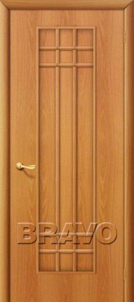 Двери ламинированные BRAVO: 16Г Л-12 (МиланОрех) в STEKLOMASTER