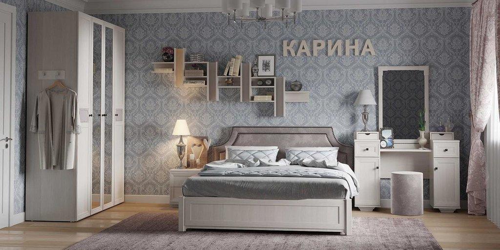 Модульная мебель в спальню Карина: Модульная мебель в спальню Карина в Стильная мебель