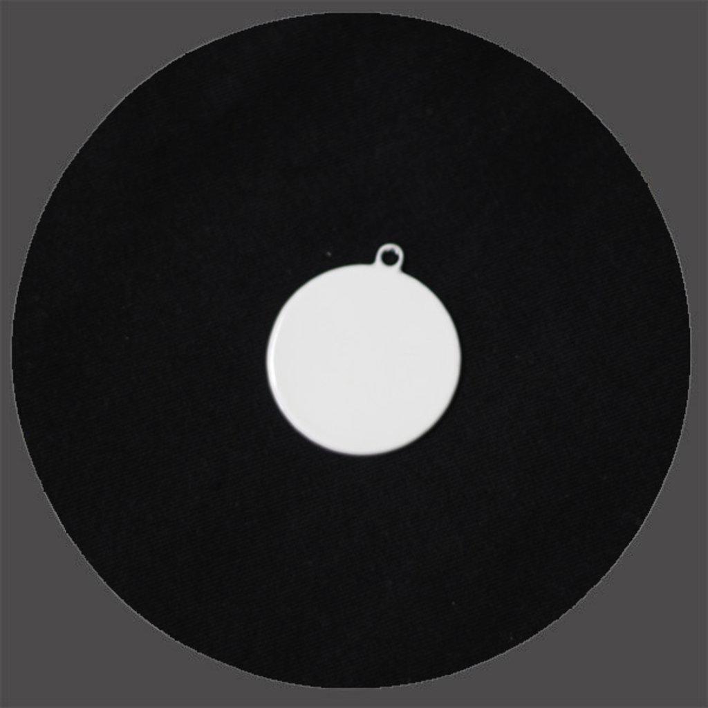 Брелоки: Брелок круг под сублимацию в NeoPlastic