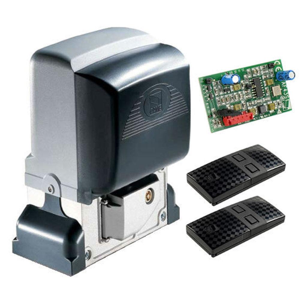 Автоматика для откатных ворот: Комплект BX-64 для автоматизации откатных ворот в Автоворота71