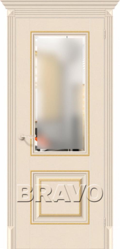 Двери экошпон BRAVO Classico: Классико-33G-27 Ivory в STEKLOMASTER