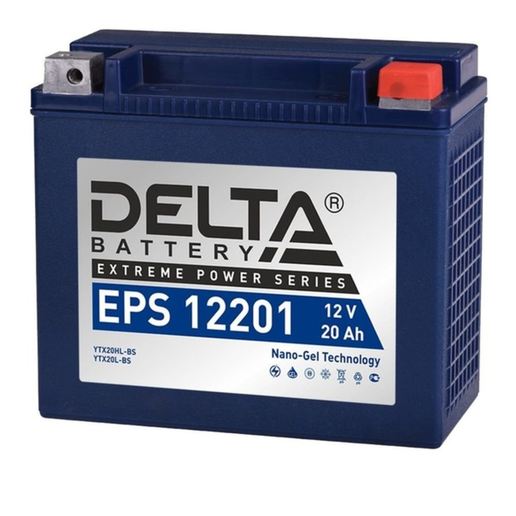 Delta: DELTA 12201 EPS в БазаАКБ
