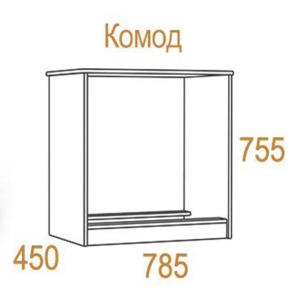 Комоды для дома: Комод Комфорт-2 в Стильная мебель