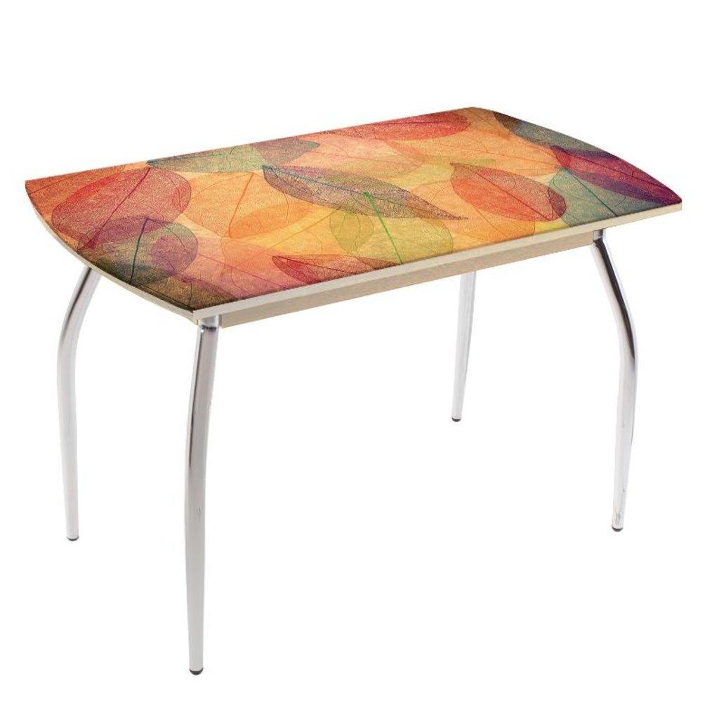 Столы обеденные: Стол обеденный без полки 5.1 листья цветные в Уютный дом