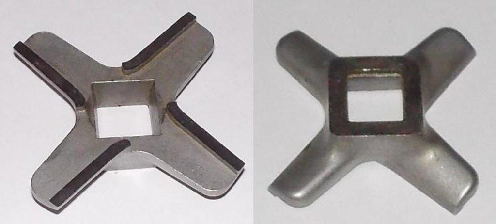 Запчасти для электромясорубок: Нож D=54.6, h=10.3, квадрат=10.2 для мясорубки KENWOOD MM01W03, M01M098, N432, KW658522, MGR101UN в АНС ПРОЕКТ, ООО, Сервисный центр