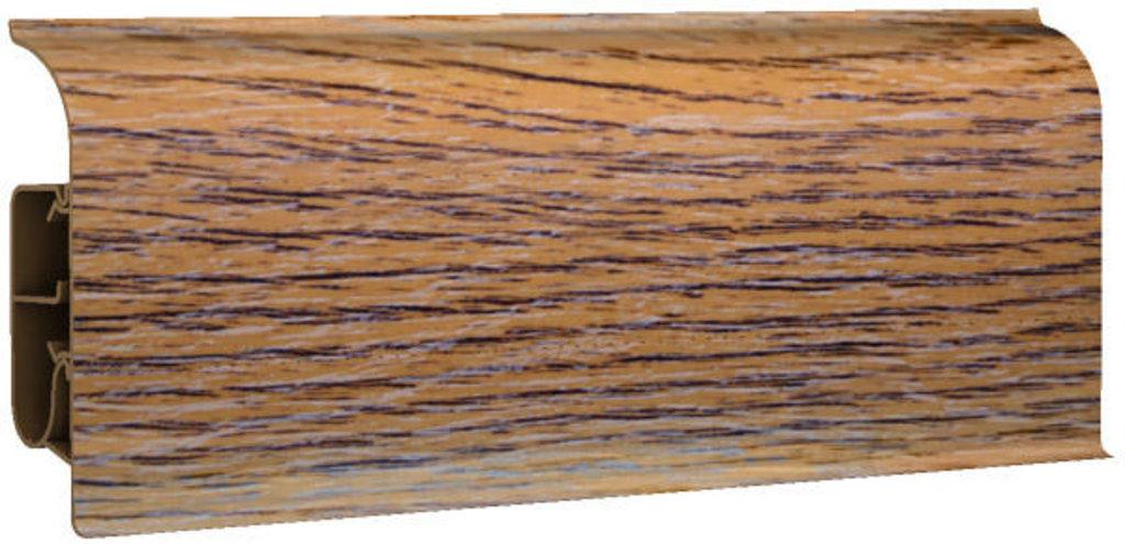 Плинтуса напольные: Плинтус напольный 85 полуматовый 8547 дуб финский в Мир Потолков
