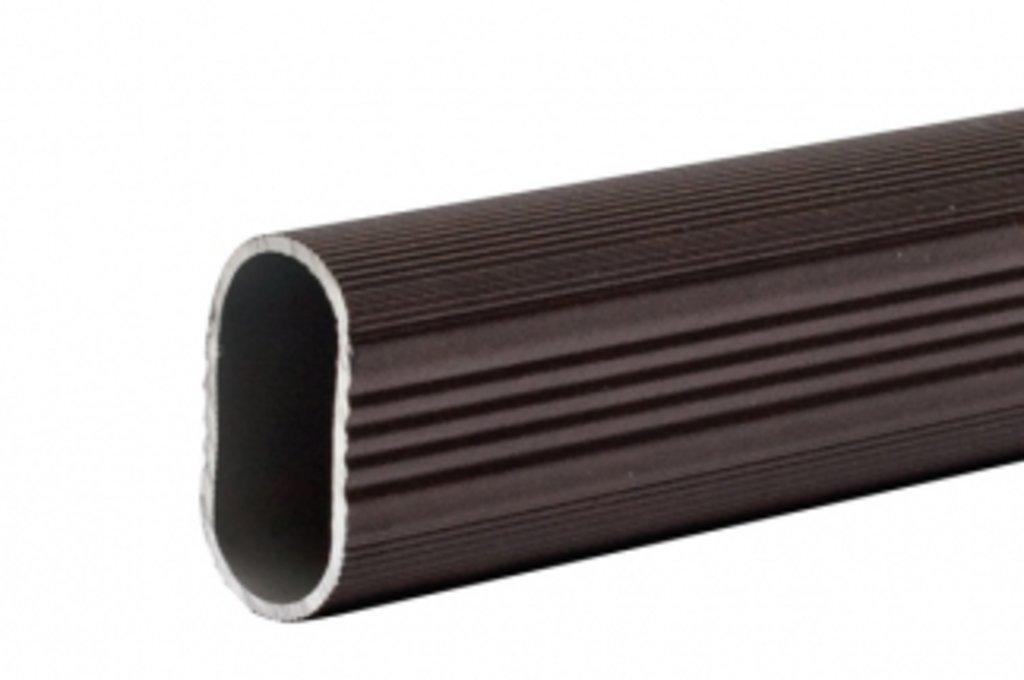 Аксессуары для шкафов: Штанга 15х30 для шкафа, арабика, L=2000мм в МебельСтрой